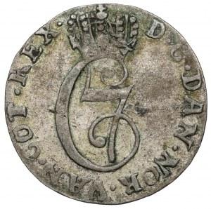 Norway, Chrystian VII, 2 Skilling Danske 1780