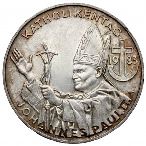 Austria, Johannes Paul II, 500 Schilling 1983