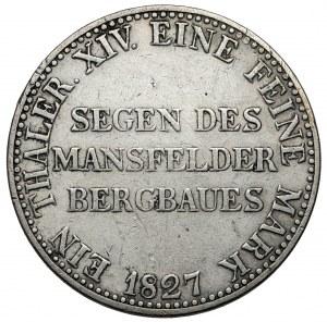 Preussen, Friedrich Wilhelm III, Taler 1827-A