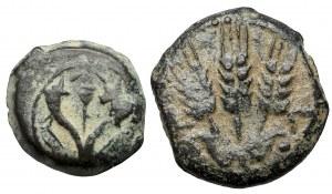 Grecja, Judea - zestaw brązów (2szt)