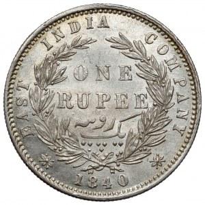 India - British, Victoria, Rupee 1840