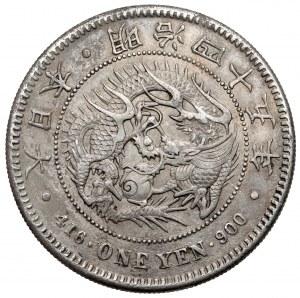 Japan, Meiji, 1 Yen 1912 - small type