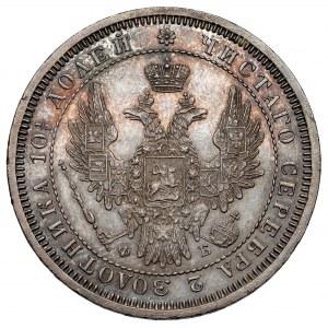 Rosja, Aleksander II, Połtina 1857 ФБ, Petersburg