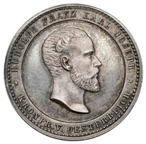 Austria, Medal - death of Rudolf, Crown Prince of Austria 1889