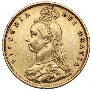 Great Britain, Victoria, 1/2 Sovereign 1887