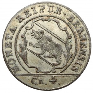 Switzerland, Bern, 4 kreuzers 1818