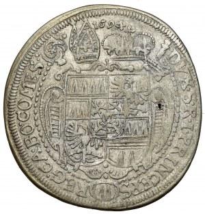 Austria, Karol II z Lichtenstein, 15 krajcarów 1670, Ołomuniec