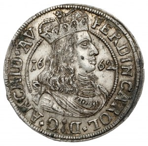 Austria, Ferdynand Karol, 3 krajcary 1662, Tyrol