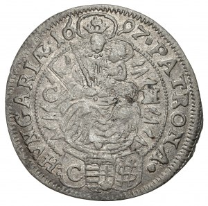 Hungary, Leopold I, 3 kreuzer 1697 CH