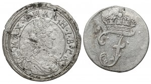 Deutschland, Lot von 2 Silbermünzen (2pcs)