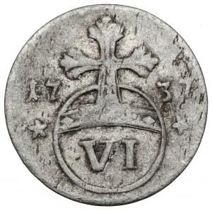 Brunswick-Wolfenbüttel, Karl I, 6 pfennig 1737