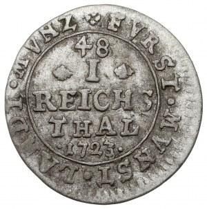 Hochstift Münster, Clemens August von Bayern, 1/48 taler 1723 AGP
