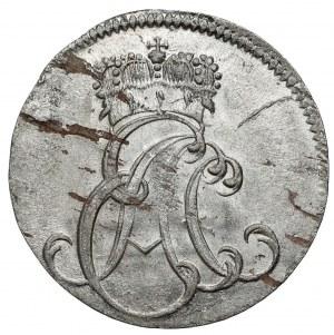 Sachsen-Weimar-Eisenach, Ernst August Constantin, 6 pfennig 1757