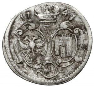Grafschaft Montfort, Ernst Joseph, Kreuzer 1743