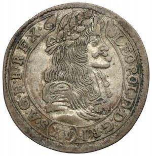 Hungary, Leopold I, 15 kreuzer 1681 KB