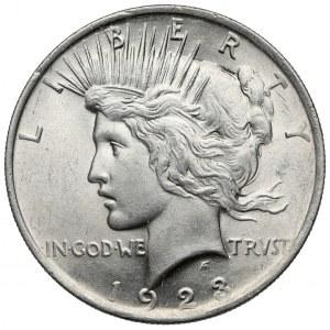 USA, Dollar 1923 - Peace Dollar