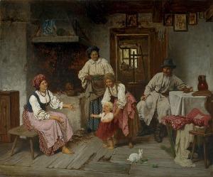 Streitt Franciszek, PIERWSZE KROKI, OK. 1875