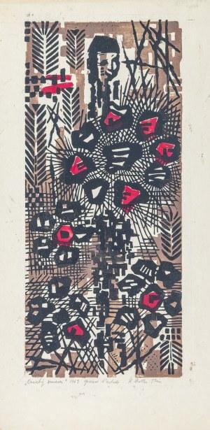 Dretler-Flin Stefania, Kwiaty śmierci, 1969