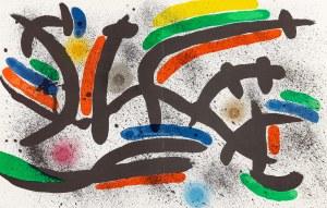 Miró Joan, Kompozycja IX, 1972