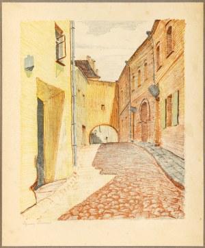 Pinkas Ignacy, Wilno. Zaułek Kazimierzowski, 1929