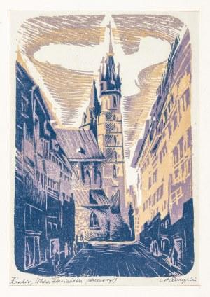 Raczyński Stanisław, Kraków. Ulica Floriańska, lata 50. XX w.