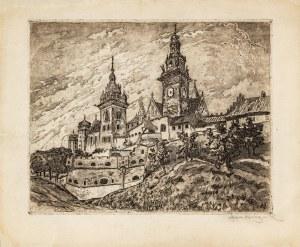 Rubczak Jan, Wawel. Widok na katedrę, ok. 1913