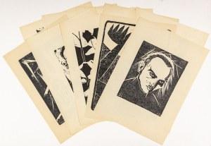 Szmaj Stefan, Grafiki, 1916 - 1963 Teka 10 linorytów, 1916