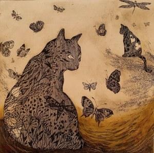 Edyta Purzycka, Koty, wiatr i motyle, 2015
