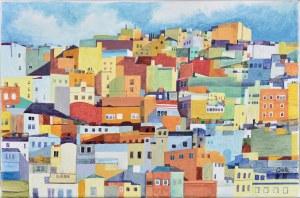 Bogumiła Ciosek (Ur.1938), Słoneczne wzgórze, 2000