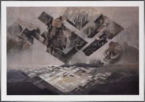 Eugeniusz Delekta (Ur.1946), Struktury przestrzeni XII, 2018