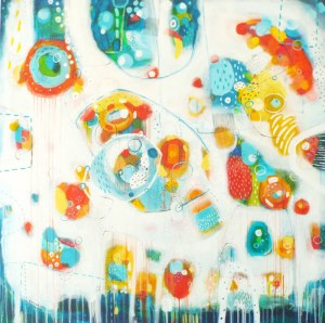 Marlena Rakoczy (ur. 1976), Be happy II, 2020