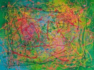 Ewa Najdenow (ur. 1967), Rozmowa o kolorach, 2020