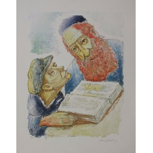 Chaim Goldberg, Rabin i uczeń