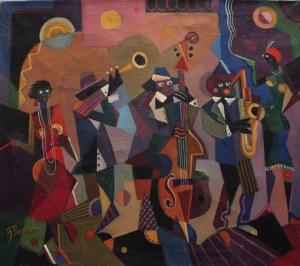 Józef Popczyk, Orkiestra jazzowa