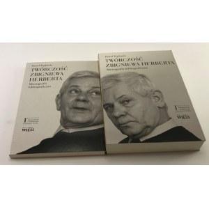 Kądziela Paweł Twórczość Zbigniewa Herberta Monografia bibliograficzna