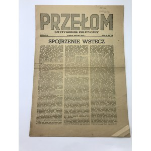 Przełom Dwutygodnik Polityczny Kraków Styczeń 1945