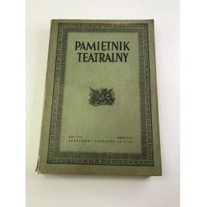 Pamiętnik Teatralny Rok 1952 Zeszyt 2/3