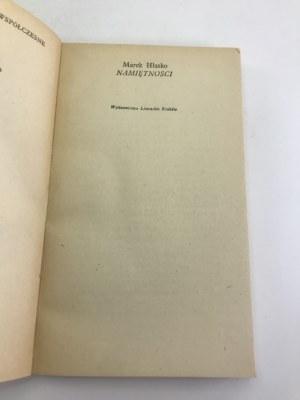 Hłasko Marek Namiętności [wydanie I]