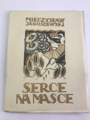 Jagoszewski Mieczysław Serce na masce [projekt okładki Barbara Krzyżanowska]
