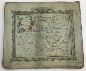 Atlas Guberni Rosyjskich [miedzioryty, 37 map]