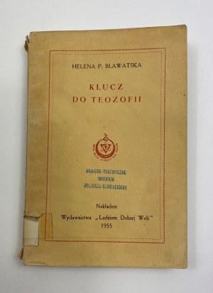 Bławatska H. P. Klucz do Teozofii [ex libris Rafał T. Prinke]