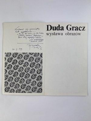 [Dedykacja] Duda-Gracz Jerzy Wystawa obrazów. Katalog