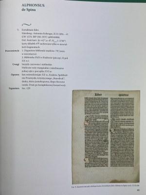 Katalog inkunabułów Biblioteki Naukowej PAU i PAN w Krakowie