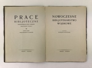 Łodyński Marian, Nowoczesne Bibliotekarstwo Wojskowe