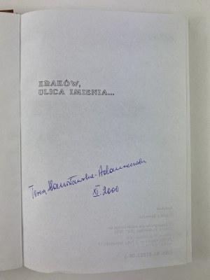 [Dedykacja] Adamczewski Jan Stanisławska - Adamczewska Teresa Kraków ulica imienia...