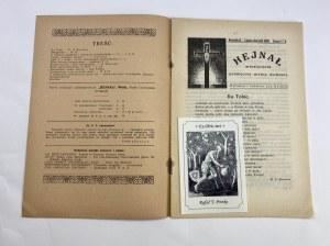 Miesięcznik Hejnał, lipiec – sierpień 1930, Rocznik II, zeszyt 7-8 [Rudolf Steiner]