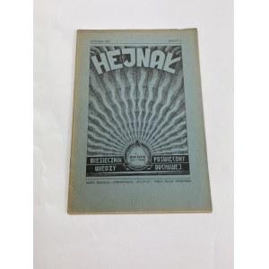 Miesięcznik Hejnał, styczeń 1935, Rocznik VII, zeszyt 1 [artykuł o alkoholu]