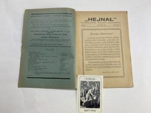 Miesięcznik Hejnał, styczeń 1937, Rocznik IX, zeszyt 1 [Czy myśl może kształtować materię]