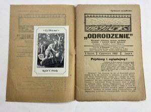 Miesięcznik Odrodzenie, zeszyt 4 Rok II, Czerwiec 1922, [Przypowieści Lao Tse'go]