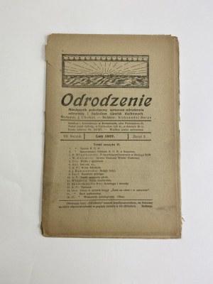 Miesięcznik Odrodzenie, zeszyt 2 Rok VII, Luty 1927 [Kursa znachorskie]